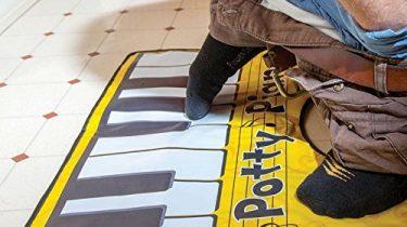Klavier Toilettenspiel mit Liederbuch