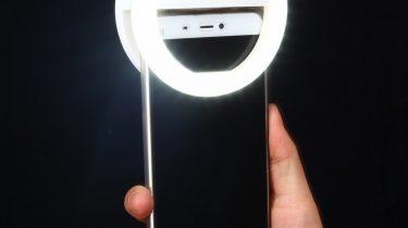 Selfie LED Strahler