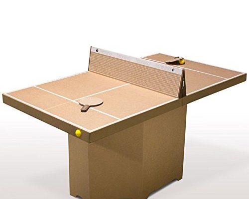Tischtennis - Tisch Tennino Tenniscourt Set aus Pappe