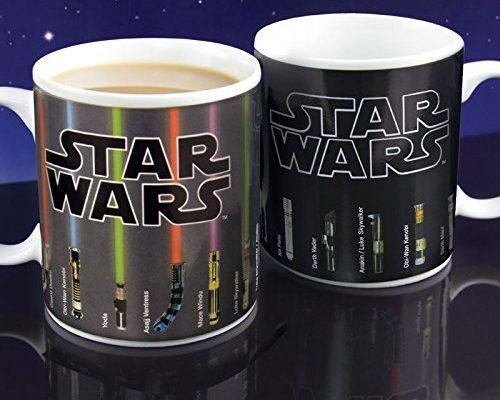 Star Wars Lichtschwerter Tasse mit Thermo Effekt