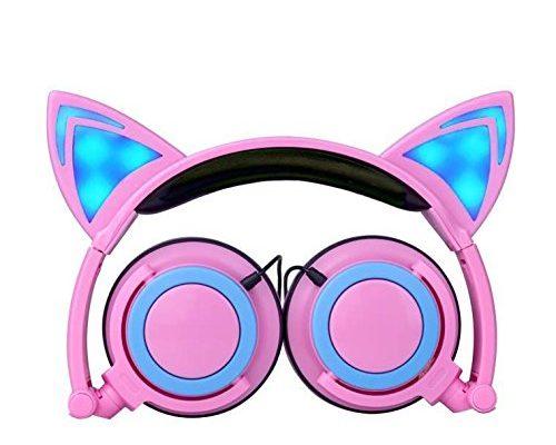 Katzen-Ohren-Kopfhörer