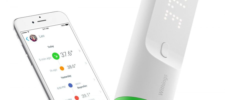 Withings Thermo - WLAN Schläfenthermometer