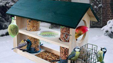 Vogelfutterhaus Deluxe 8 in 1