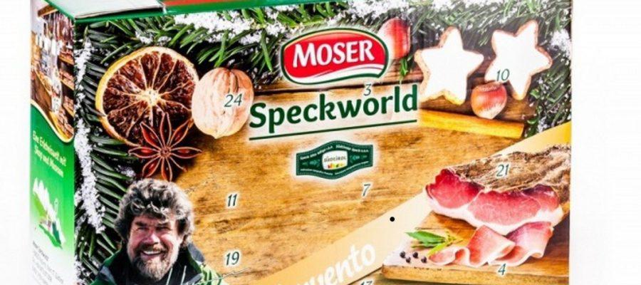 Adventskalender mit Original Speck aus Südtirol