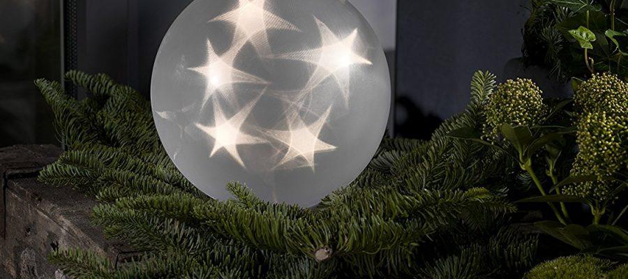 LED Dekokugel Hologramm