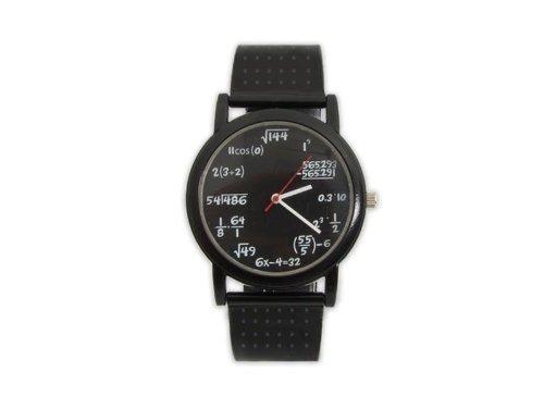Geniale Mathe Armbanduhr mit Formeln