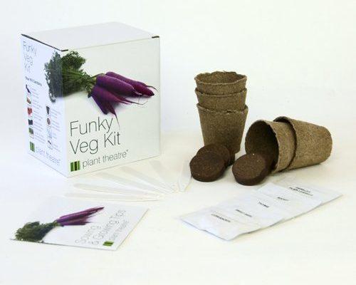 Flippiges Gemüse-Kit - 5 außergewöhnliche Gemüse zum Selbstzüchten