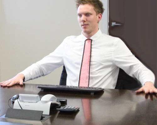 Luftpolsterfolien Krawatte