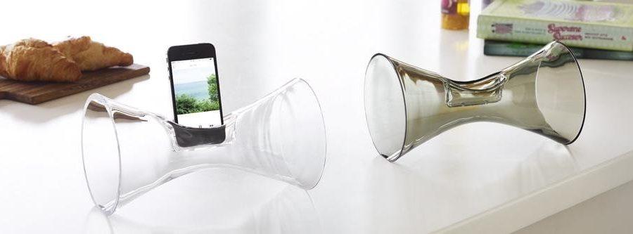 Urania - Akustischer Lautsprecher aus Glas