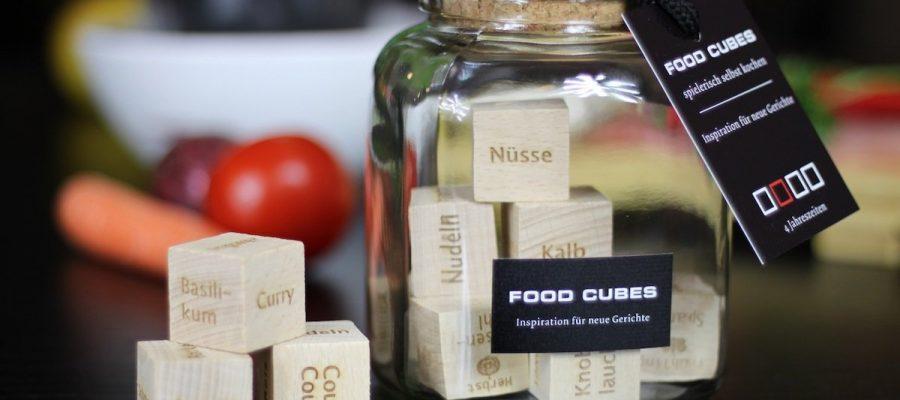 FOOD CUBES – Inspiration für neue Gerichte!
