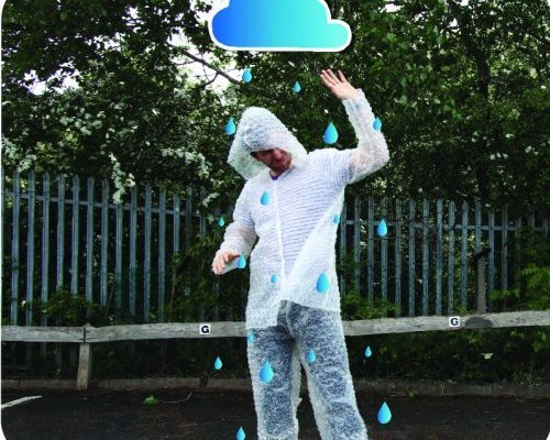 Bubble Wrap Kostüm