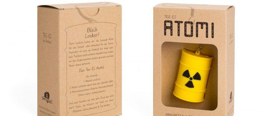 Atomi - Tee-Sieb