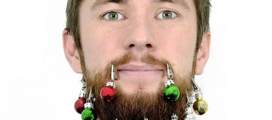 Weihnachtsdeko für modebewusste Bartträger