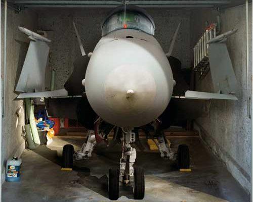 Garagentor Foto-Plane Jet