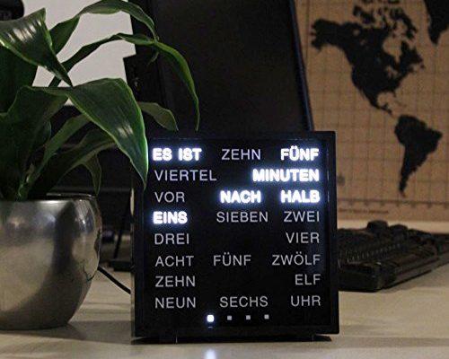 LED Wort Uhr
