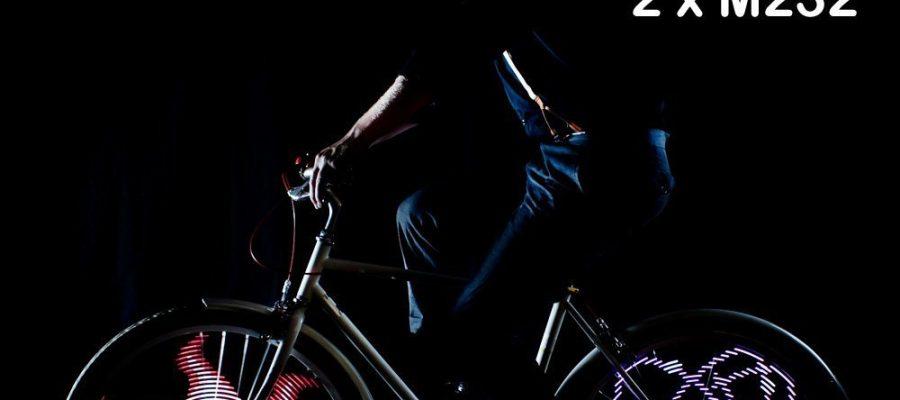 Fahrrad Licht - 42 Motive