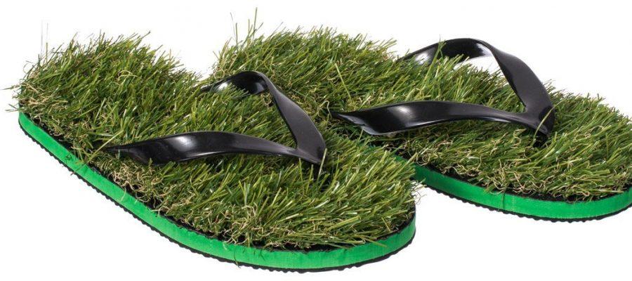 VENKON - Gras Flip Flops