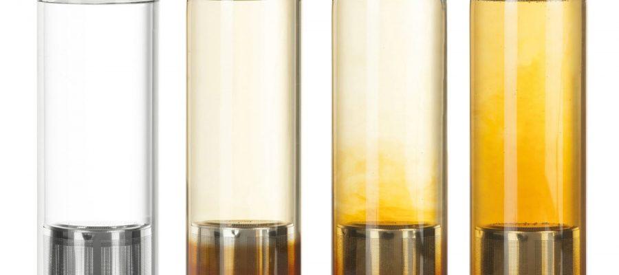 DIMONO Deluxe Trinkflasche aus Glas 600ml