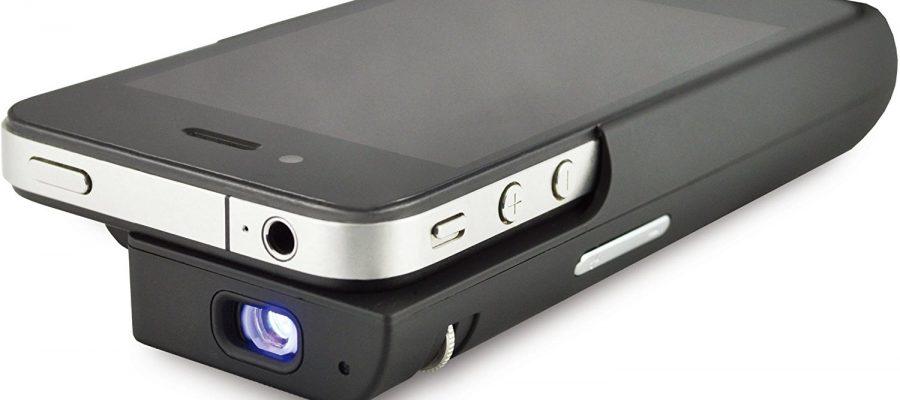 Odys Pico 2-in-1 Projektor und Ladeschale für iPhone 4/4S