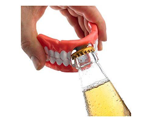 Flaschenöffner GEBISS - schon deine Zähne!
