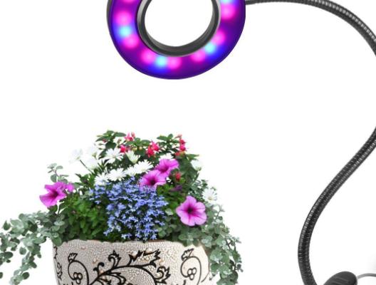 LED Grow Pflanzenlampe für Zimmerpflanzen