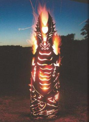 Feuerkorb Feuerdrache