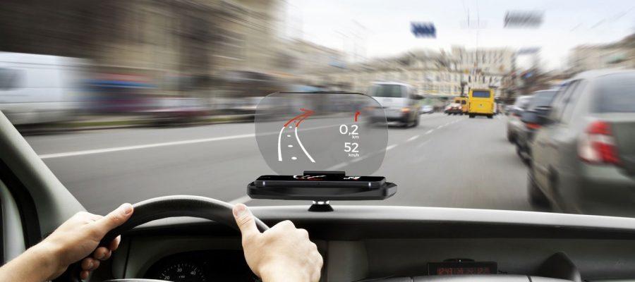 Focus Navigations-Anzeige für Smartphones