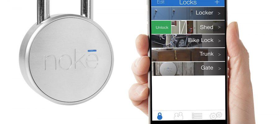 Noke Padlock - smartes schlüsselloses Bluetooth Vorhängeschloss