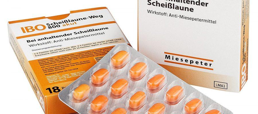 Miesepeter - IBO Scheißlaune-Weg 800 akut Lutschdragées